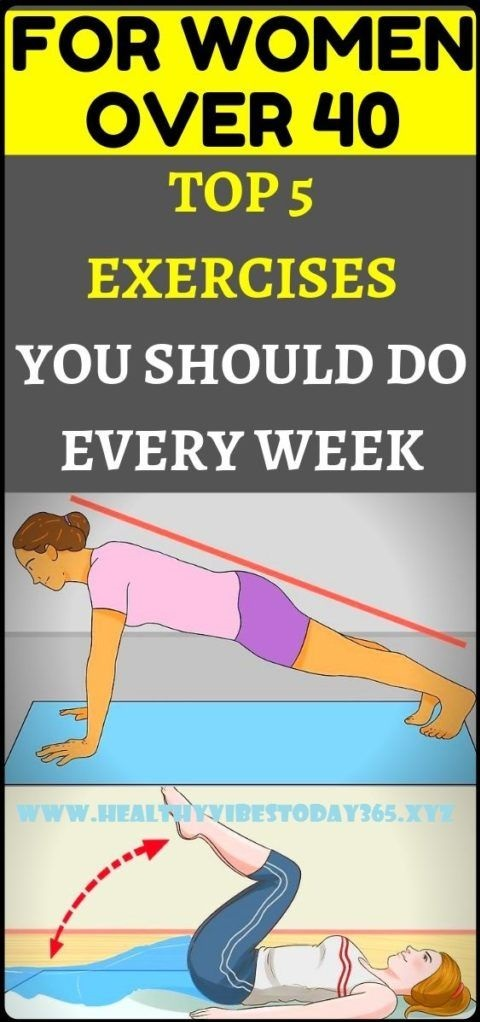 TOP 5 EXERCISES EVERY WOMEN OVER 40 SHOULD DO EVERY WEEK